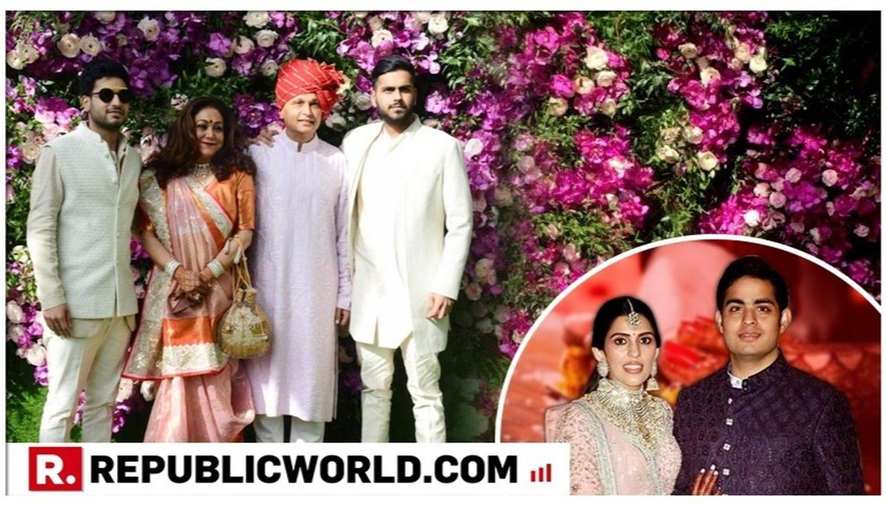 AKASH AMBANI-SHLOKA MEHTA WEDDING: ANIL AMBANI AND TINA AMBANI WALK IN WITH THEIR BOYS, DAZZLING ON THE GREEN CARPET