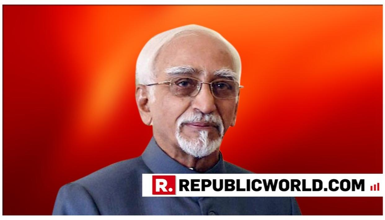 """OFFICIAL SECRETS ACT 'ARCHAIC', NEEDS RELOOK"", SAYS FORMER VICE PRESIDENT HAMID ANSARI"