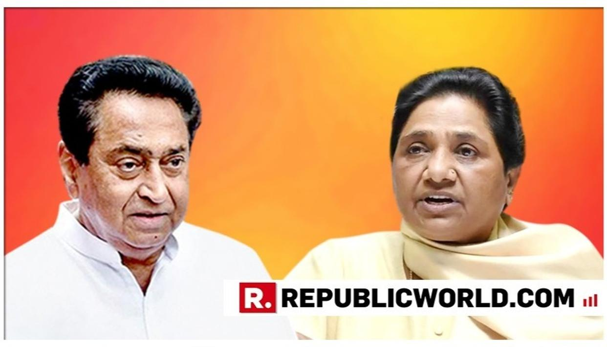 CONG-BSP RIFT WIDENS IN MADHYA PRADESH AS THREE LEADERS FROM MAYAWATI'S PARTY JOIN CONGRESS