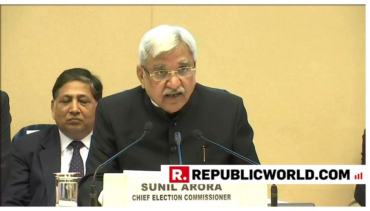 LOK SABHA ELECTIONS: 10 LAKH POLLING STATIONS IN 2019, SAYS CEC SUNIL ARORA