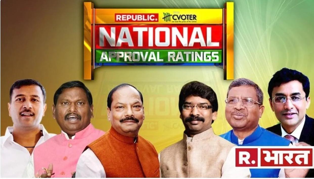 National Approval Ratings | झारखंड में  UPA को 14 में से मिल सकती हैं 10 सीटें