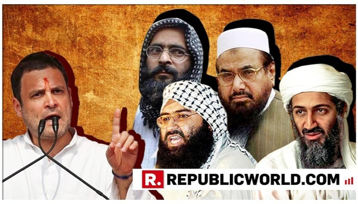 'MASOOD AZHAR-JI', 'OSAMA-JI', 'SHRI HAFIZ SAEED': HERE'S A HISTORY OF CONGRESS LEADERS' HONORIFICS FOR TERRORISTS