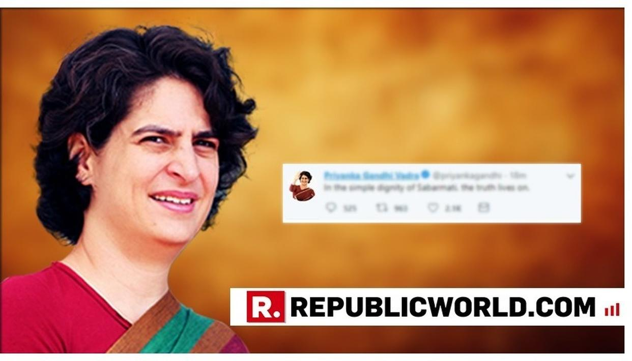 PRIYANKA GANDHI VADRA POSTS HER FIRST MESSAGE ON TWITTER, AFTER TAKING CHARGE AS CONGRESS LEADER. HERE'S WHAT IT IS