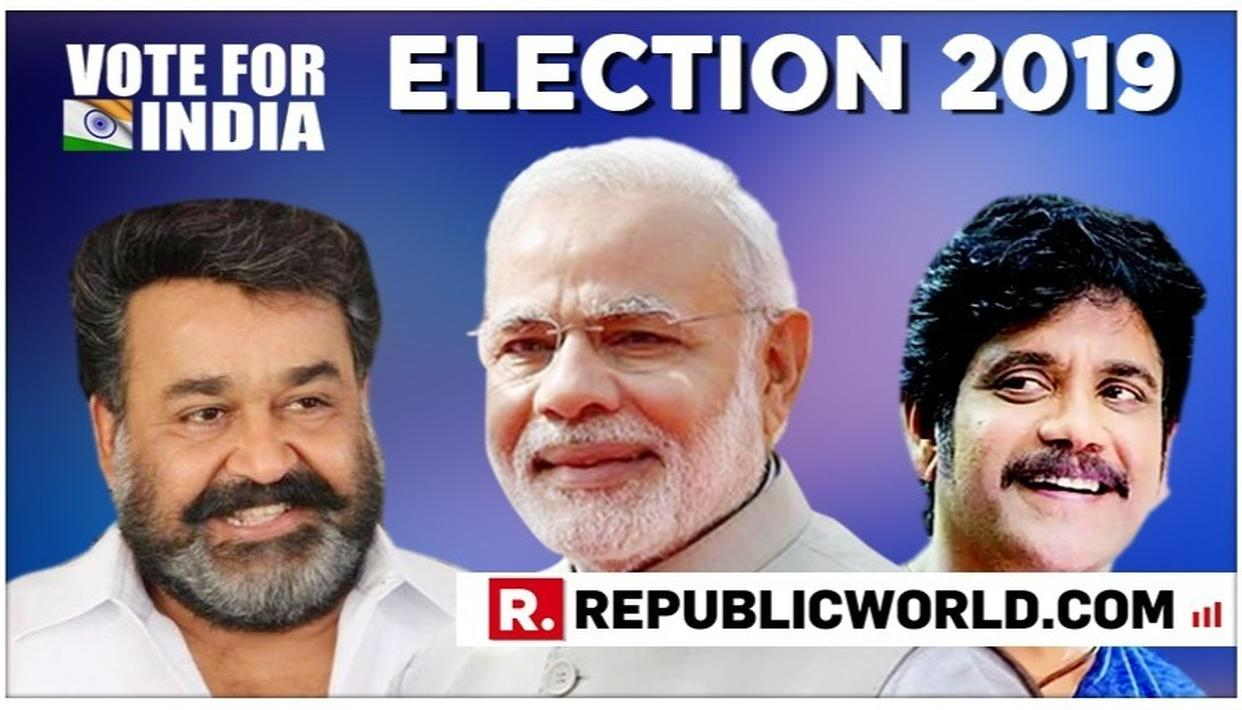 'YOUR PERFORMANCES HAVE ENTERTAINED MILLIONS', SAYS PM MODI TO MOHANLAL AND NAGARJUNA REQUESTING THEM TO CHANNEL THEIR INFLUENCE TOWARDS INCREASING 2019 ELECTION TURNOUT