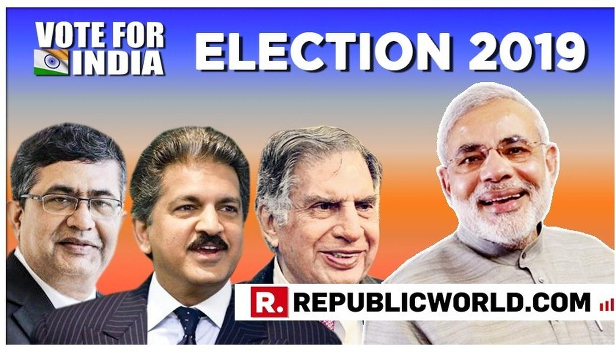 PM MODI WRITES TO RATAN TATA, ANAND MAHINDRA AND ASHISH CHAUHAN, SEEKS THEIR HELP IN MAKING INDIA WIN IN THE 2019 ELECTIONS. READ HERE