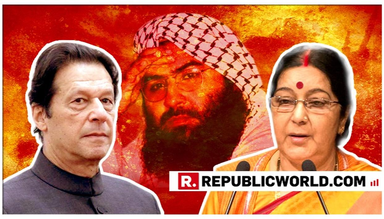 "WATCH: EXTERNAL AFFAIRS SUSHMA SWARAJ EXPOSES PAKISTAN'S SHAM ON TERROR, SAYS ""HAND OVER MASOOD AZHAR IF YOU REALLY WANT PEACE"""