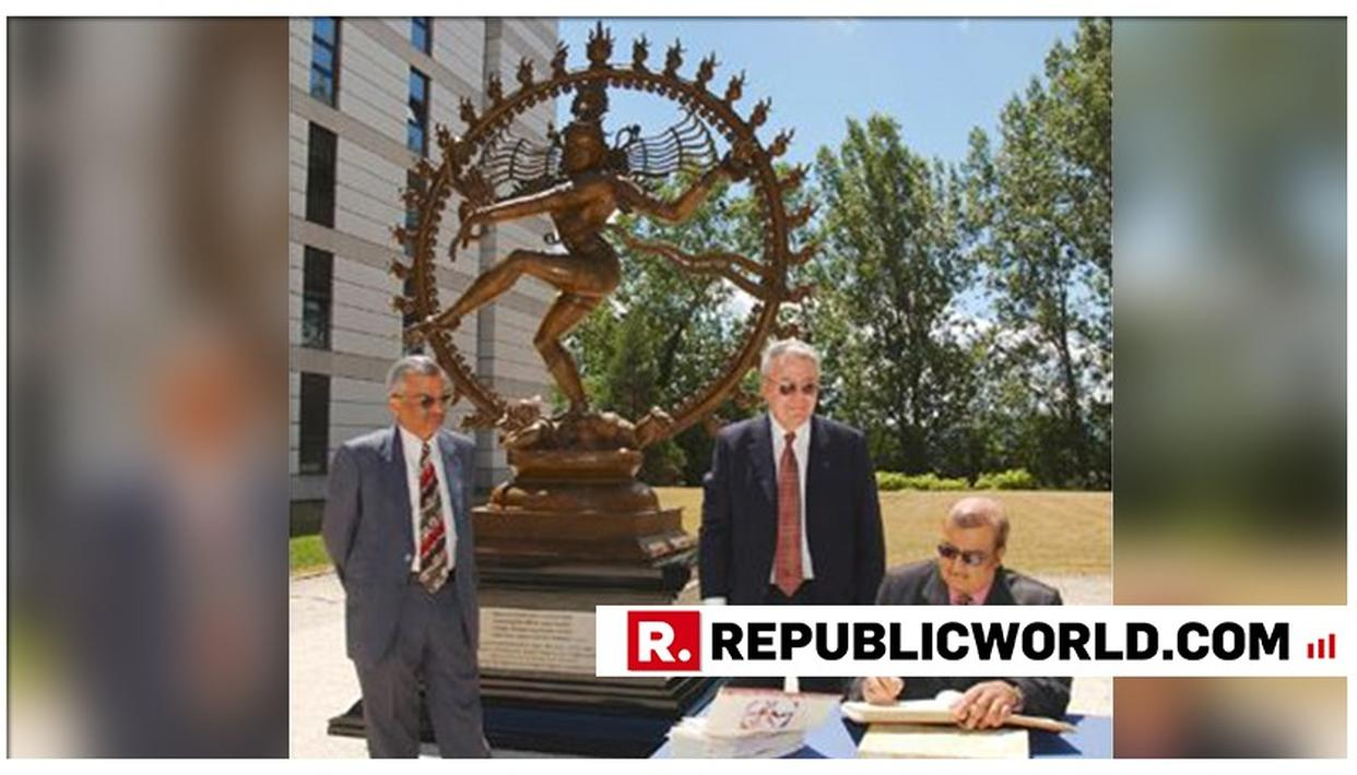 AWESOME: 'MADE IN INDIA' NATARAJASTATUE NOW OVERLOOKS THE WORLD'S LARGEST PARTICLE ACCELERATOR - CERN'S LHC