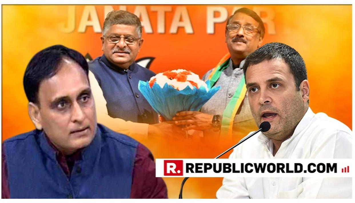 """IF HE'S ATTACKING VADAKKAN, HE'S ATTACKING ALL SENIOR LEADERS OF CONGRESS"": BJP MP RAKESH SINHA ON RAHUL GANDHI'S INSULT TO TOM VADAKKAN FOR JOINING BJP"
