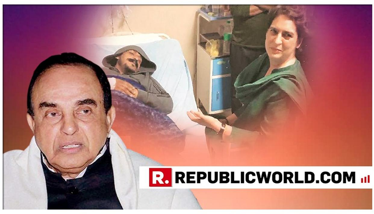 DR SUBRAMANIAN SWAMY SPEAKS ON BHIM ARMY CHIEF'S THREAT, SAYS 'CONG KNOWS IT'LL BE A DEATH BLOW IF THEY LOSE ELECTIONS, HENCE ASSOCIATING WITH MAYHEM'