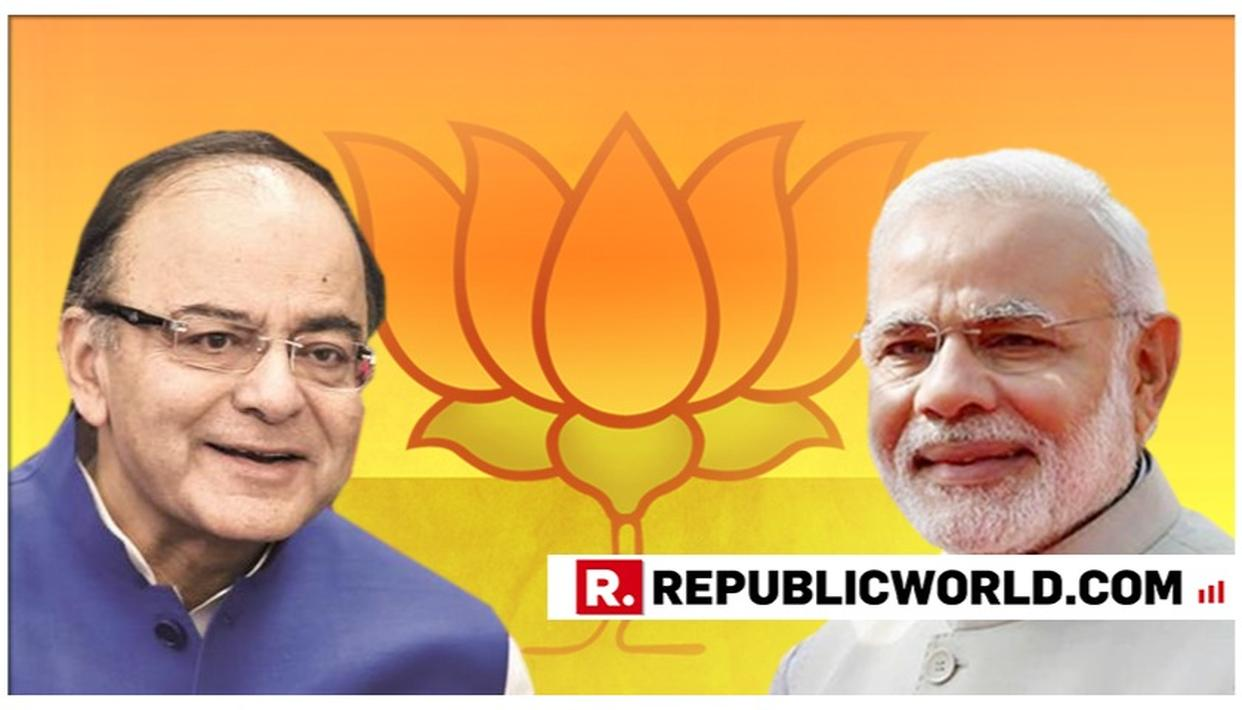 'PM MODI AND ASPIRATIONAL INDIA WILL PREVENT THE COUNTRY FROM TURNING INTO A DYNASTIC DEMOCRACY': ARUN JAITLEY