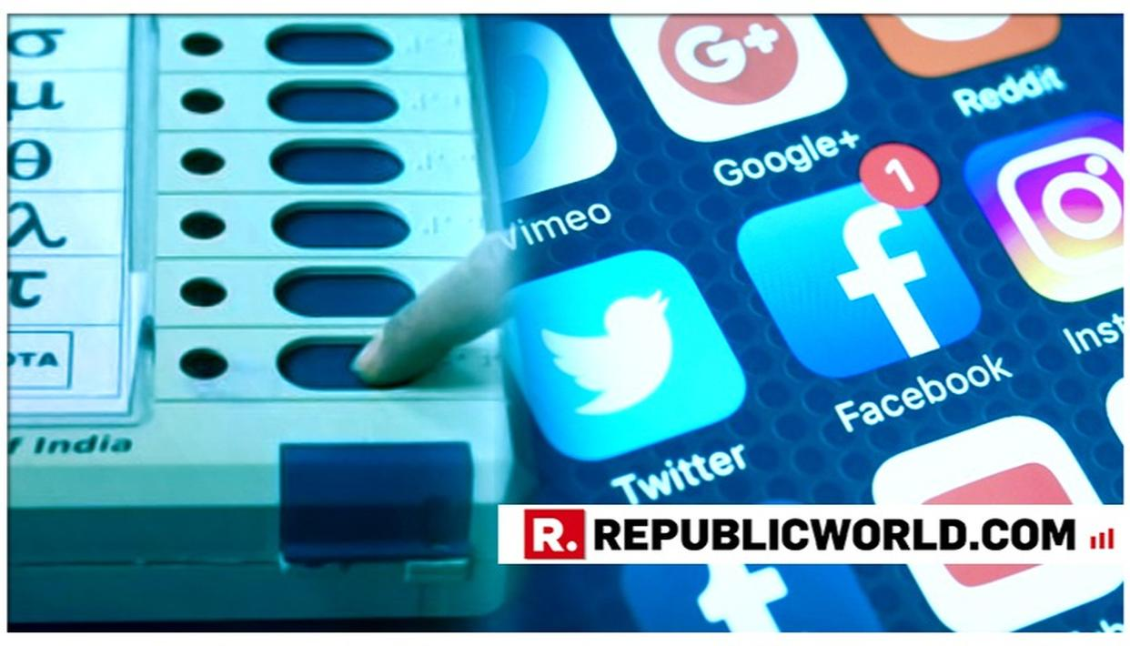 'ELECTION COMMISSION WILLING TO PROHIBIT POLITICAL ADS ON SOCIAL MEDIA FOR 48 HRS BEFORE POLLING IF HIGH COURT ISSUES ORDERS'