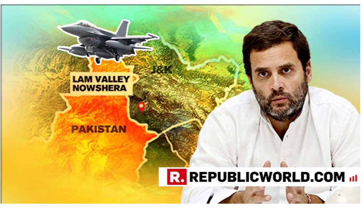 WATCH | BIG ADMISSION: RAHUL GANDHI ADMITS IAF'S BALAKOT STRIKE EVEN AS PARTY LEADERS DEMAND EVIDENCE