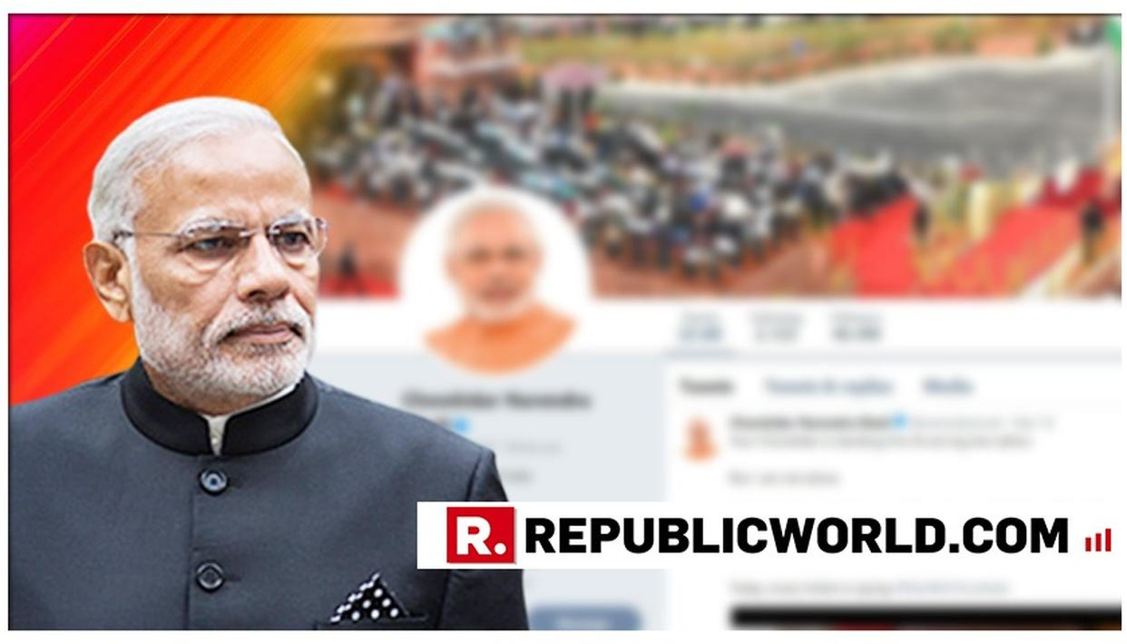 PM NARENDRA MODI CHANGES HIS TWITTER NAME TO 'CHOWKIDAR NARENDRA MODI' AFTER INITIATING #MAINBHICHOWKIDAR POLL CAMPAIGN