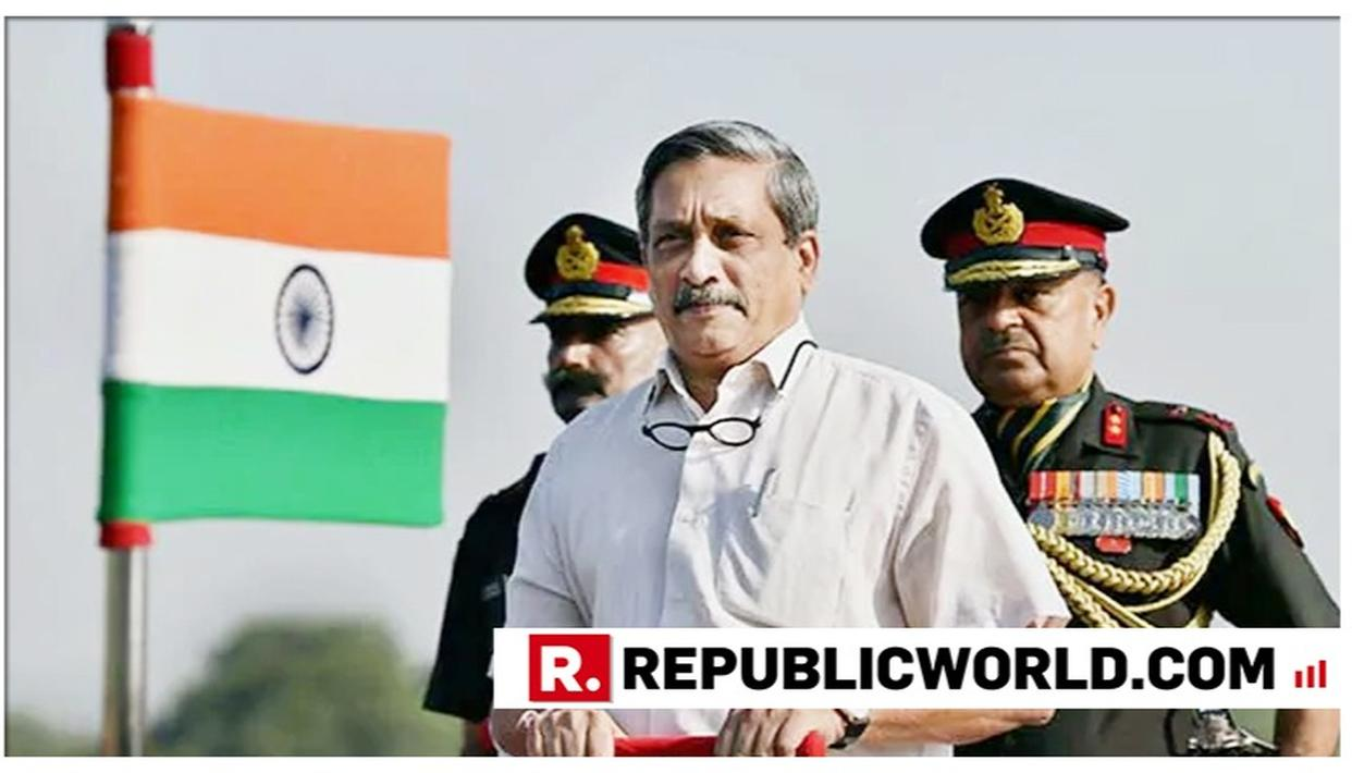 MHA ANNOUNCES THAT GOA CM MANOHAR PARRIKAR'S FUNERAL RITES TO BE PERFORMED WITH FULL MILITARY HONOURS