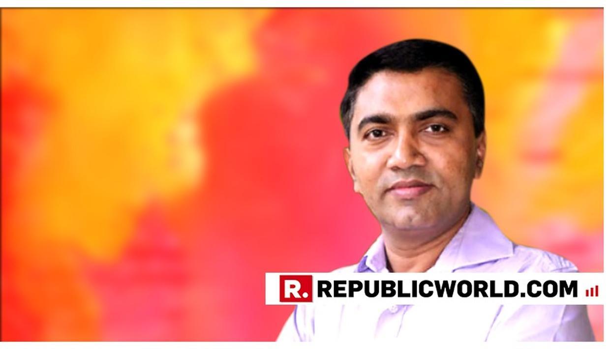 BJP FAVOURS PRAMOD SAWANT FOR NEXT GOA CM, AS PER SOURCES. HERE'S ALL YOU NEED TO KNOW ABOUT HIM