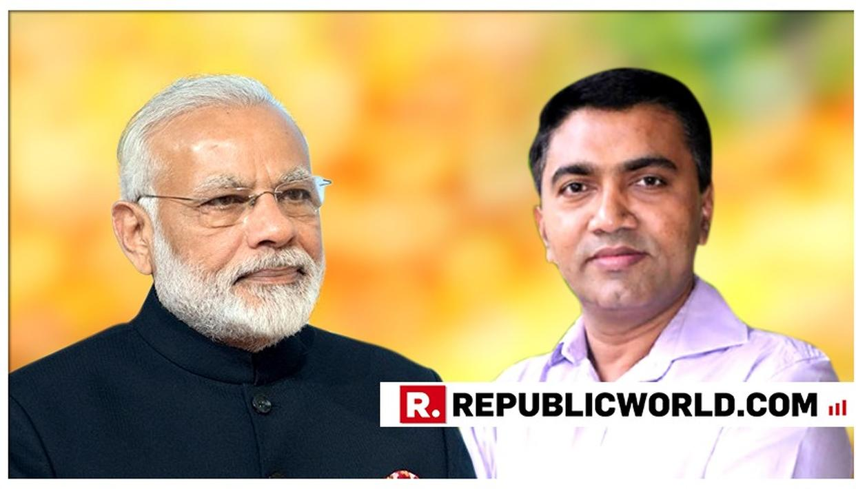 PM MODI EXTENDS BEST WISHES TO NEWLY-APPOINTED GOA CM PRAMOD SAWANT AND HIS TEAM