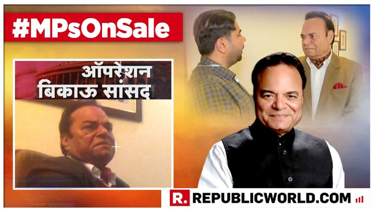 WATCH: STUNG CONGRESS MP SANTOKH SINGH IS CONFRONTED ON HIS 'ELECTION INVESTMENT' REVEAL TO A HIDDEN CAMERA, COMMITS A U-TURN