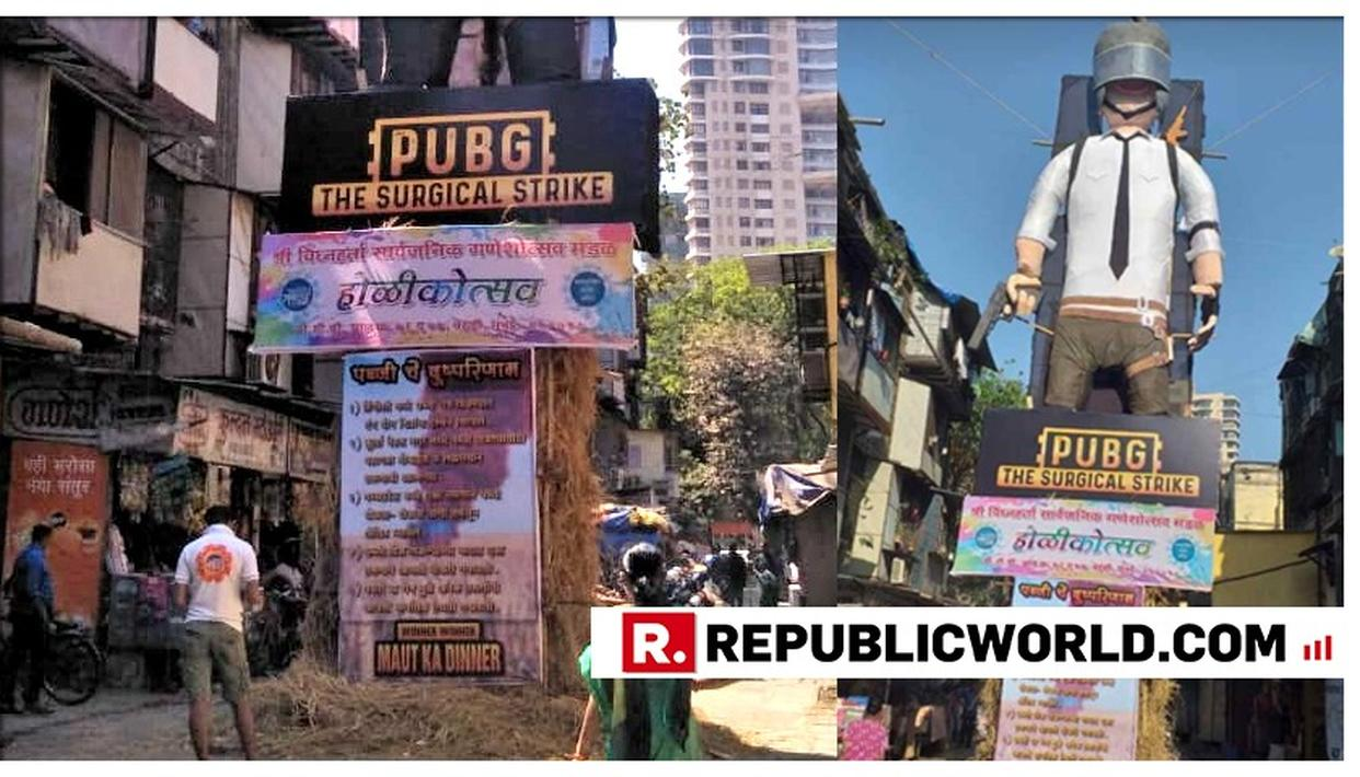'WE WANT TO SPREAD A SOCIAL MESSAGE': SEEKING BAN ON PUBG, EFFIGY OF THE MOBILE GAME TO BE BURNT THIS HOLI