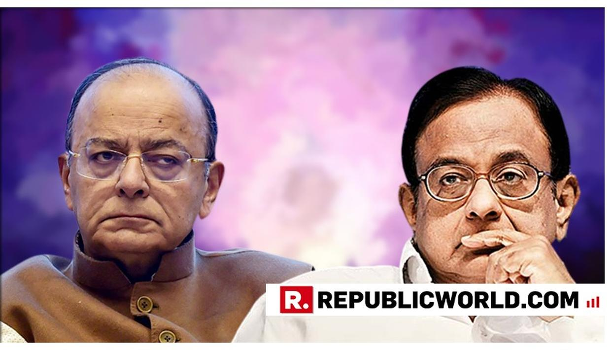 P CHIDAMBARAM HITS BACK AT ARUN JAITLEY FOR HIS 'COMPULSIVE CONTRARIAN' REMARK