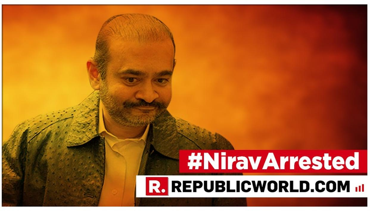 """ARRESTED ON BEHALF OF THE INDIAN AUTHORITIES"", METROPOLITAN POLICE CONFIRMS NIRAV MODI'S ARREST IN LONDON. READ STATEMENT HERE"