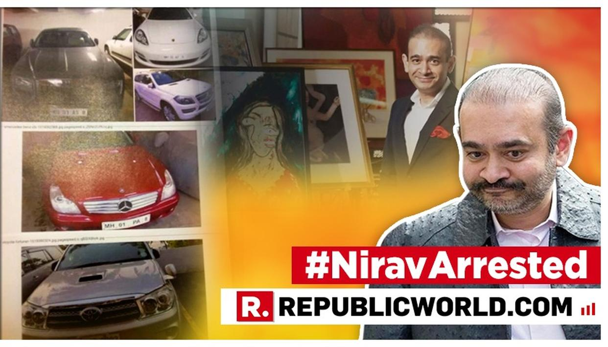 PMLA COURT GRANTS ED PERMISSION TO SELL PAINTINGS AND HIGH-END CARS SEIZED FROM NIRAV MODI