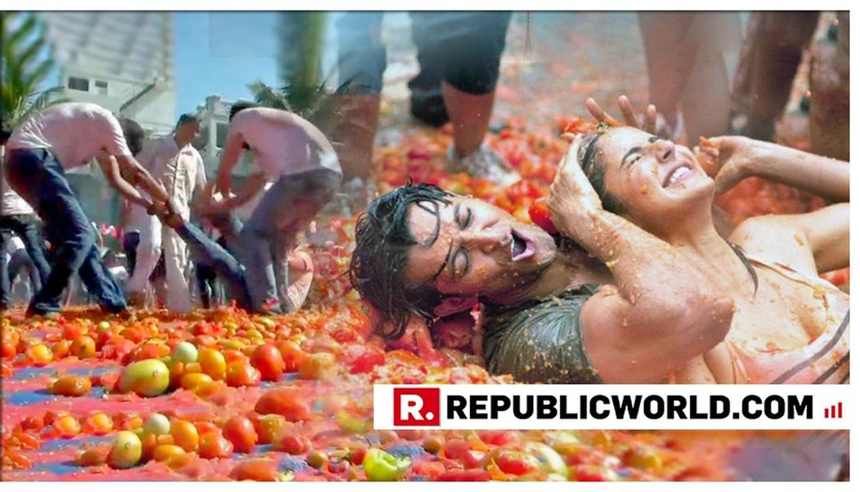 YOU HAVE TO SEE THIS: AHMEDABAD CELEBRATES HOLI WITH TOMATOES IN THE SPANISH 'LA TOMATINA' STYLE