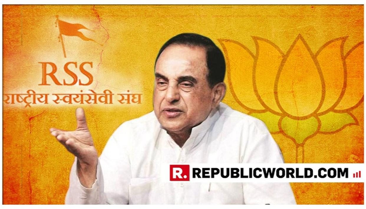 DR SWAMY SUMS UP RELATIONSHIP BETWEEN BJP AND RSS