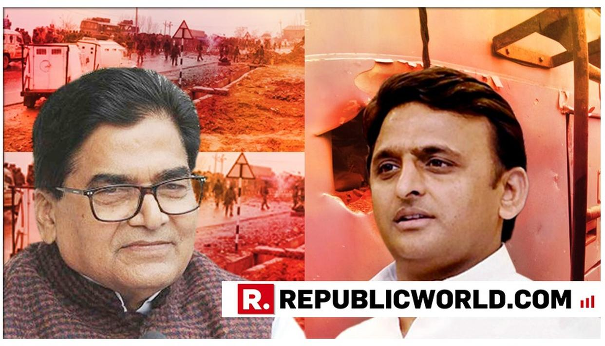 SHOCKING: AKHILESH YADAV'S UNCLE RAM GOPAL YADAV CALLS PULWAMA ATTACK A 'CONSPIRACY', SAYS INVESTIGATION WILL EXPOSE 'BIG PEOPLE'