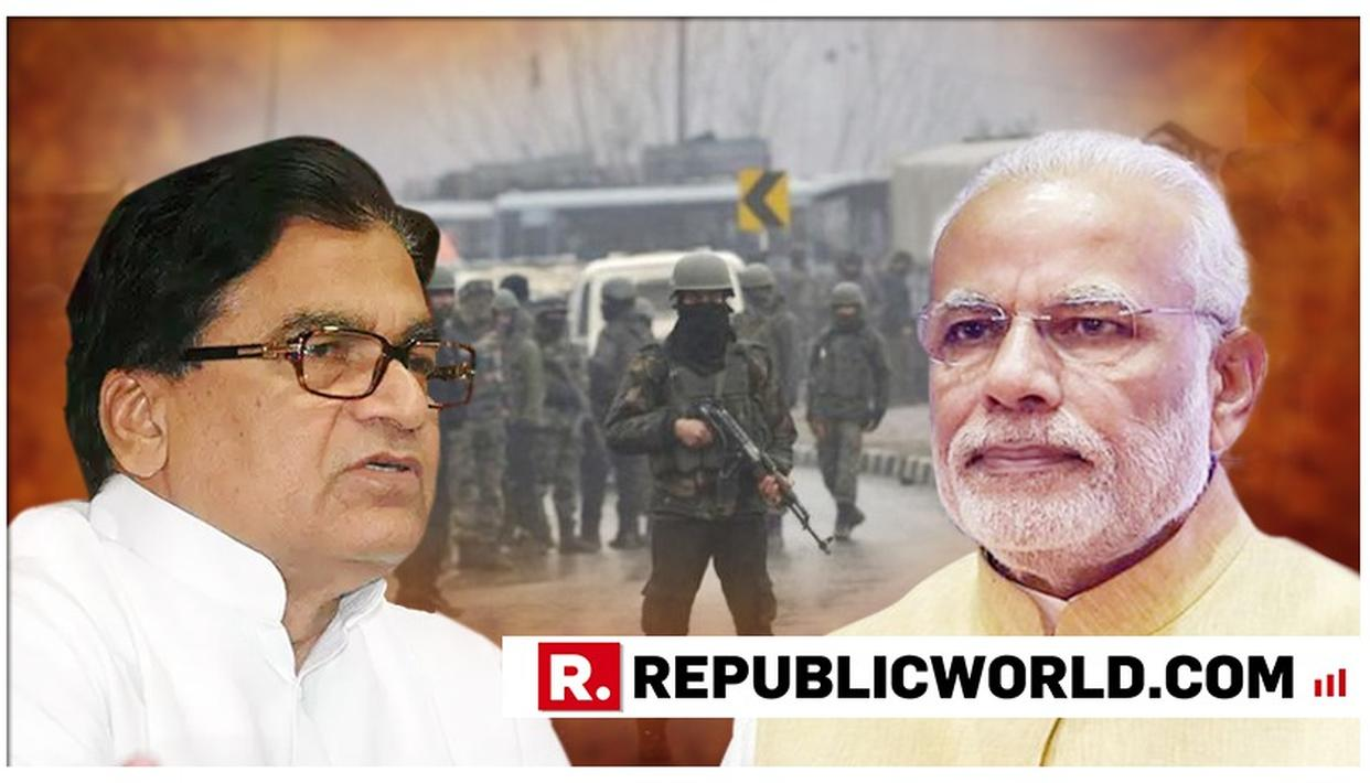 """BLISTERING ATTACK: """"REPREHENSIBLE"""", SAYS PM MODI ON RAM GOPAL YADAV'S 'PULWAMA CONSPIRACY' REMARK, ADDING, """"IT HUMILIATES THE FAMILIES OF OUR MARTYRS"""""""