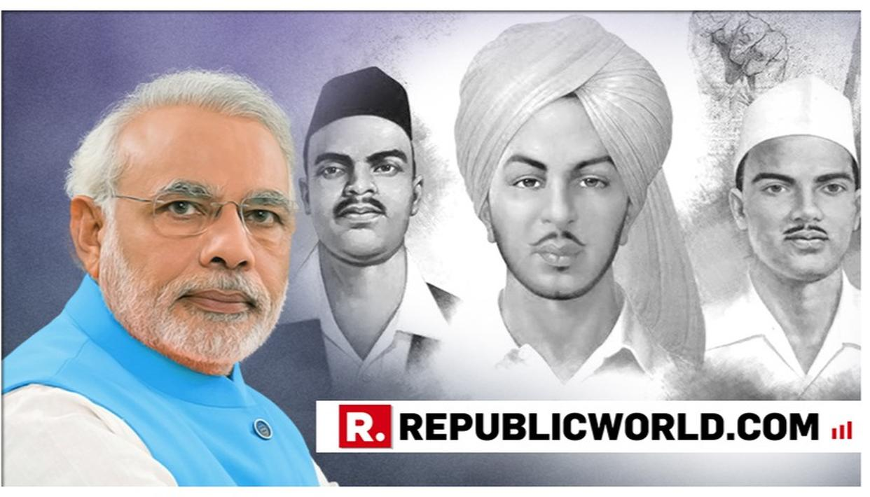 WATCH | PM NARENDRA MODI'S MESSAGE ON DEATH ANNIVERSARY OF BHAGAT SINGH, RAJGURU AND SUKHDEV