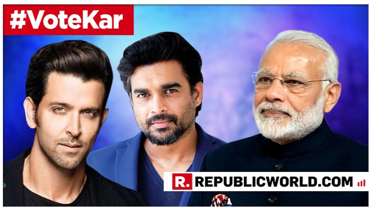 'YOUR WORK HAS STOOD OUT NOT ONLY FOR THE ENTERTAINMENT QUOTIENT BUT ALSO FOR THE PASSION AND HARD WORK BEHIND IT': PM MODI URGES ACTORS HRITHIK ROSHAN AND R. MADHAVAN TO LEND THEIR VOICE TOWARDS INCREASING VOTER AWARENESS
