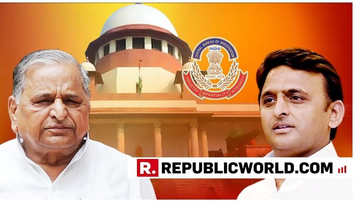 SUPREME COURT NOTICE TO CBI IN DISPROPORTIONATE ASSETS CASE AGAINST FORMER UP CMS MULAYAM, AKHILESH YADAV