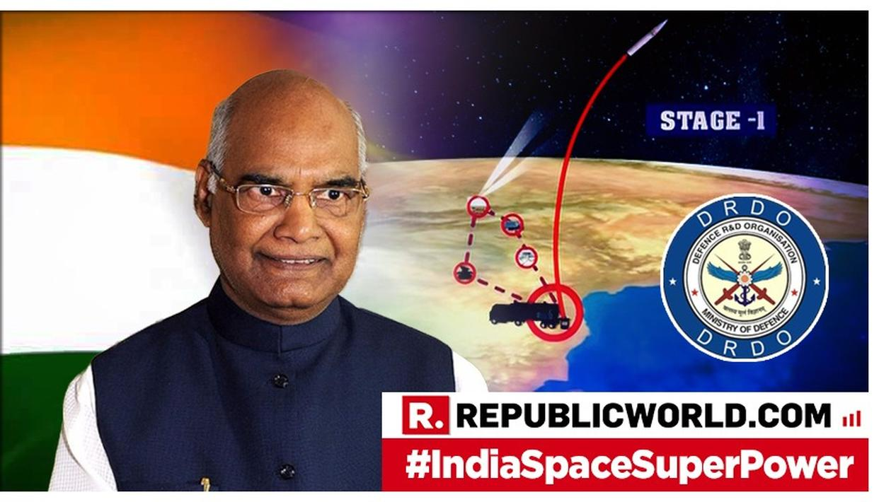 "PRESIDENT KOVIND LAUDS ""MISSION SHAKTI"" OPERATION"
