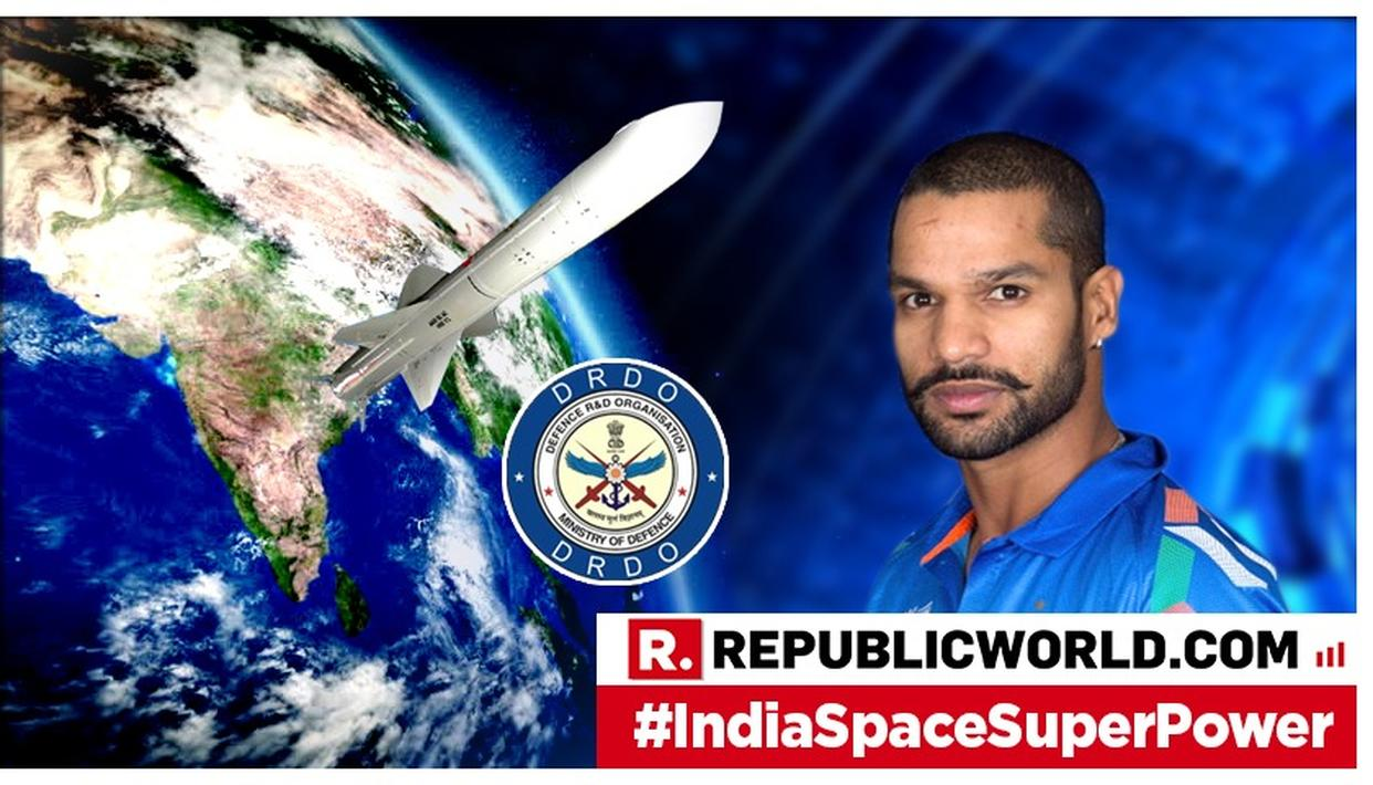 """""""GREAT ACHIEVEMENT FOR OUR COUNTRY"""": SHIKHAR DHAWAN LAUDS PM MODI AND ISRO OVER 'MISSION SHAKTI' GAMECHANGER"""