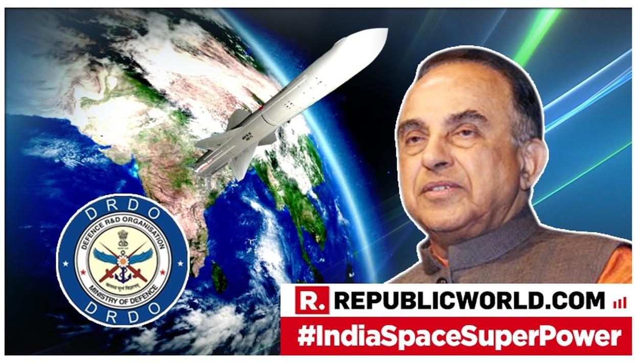 DR SWAMY'S VIEW ON 'MISSION SHAKTI'