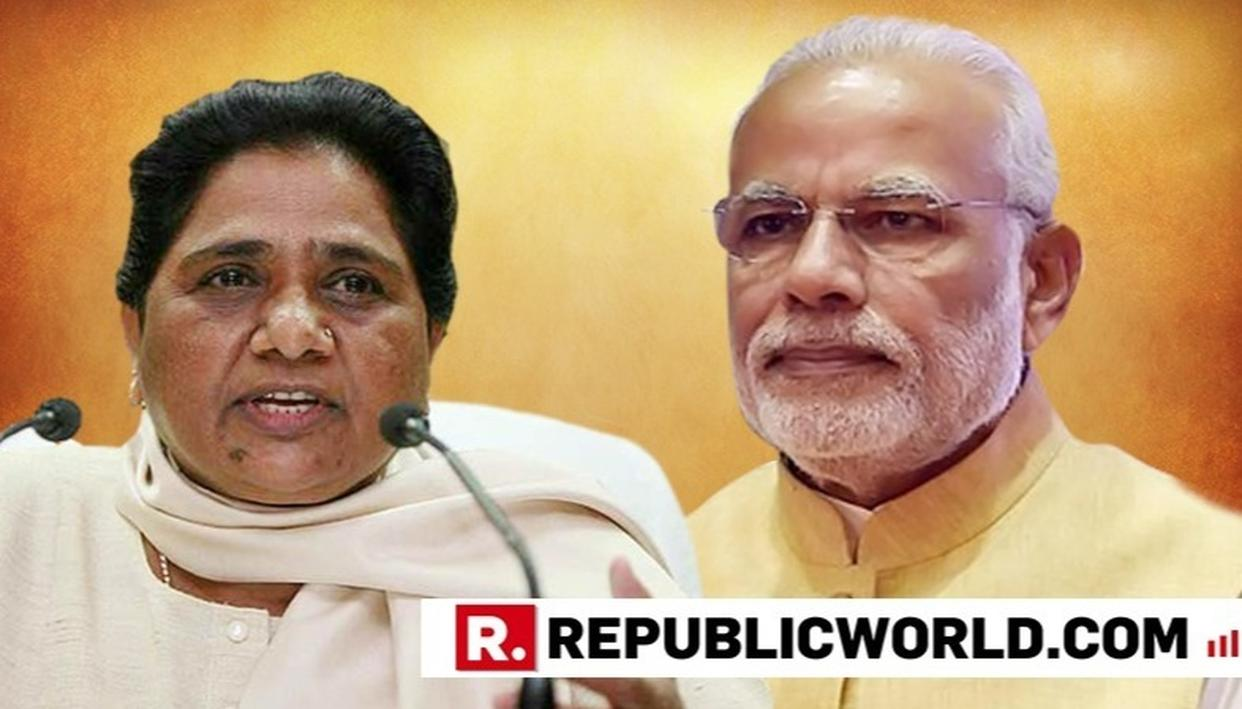 MAYAWATI CALLS 'MISSION SHAKTI' ANNOUNCEMENT A POLL CODE VIOLATION, DEMANDS EC ACTION
