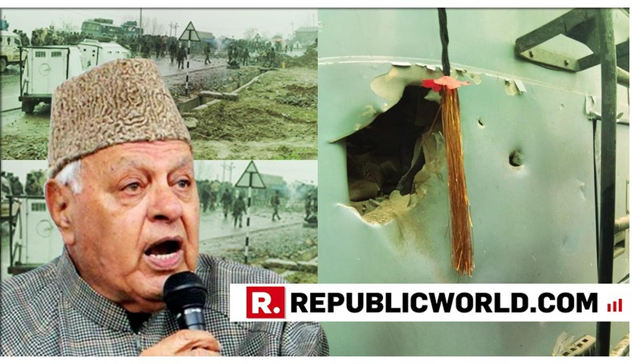 SHAMEFUL | NC LEADER FAROOQ ABDULLAH INSULTS PULWAMA MARTYRS, EXPRESSES 'DOUBT OVER DEATH OF 40 CRPF JAWANS'