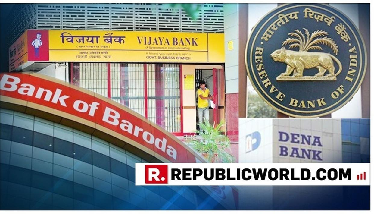 MASSIVE: BANK OF BARODA TO BE THE THIRD LARGEST BANK BY MERGING WITH VIJAYA BANK AND DENA BANK FROM APRIL 1