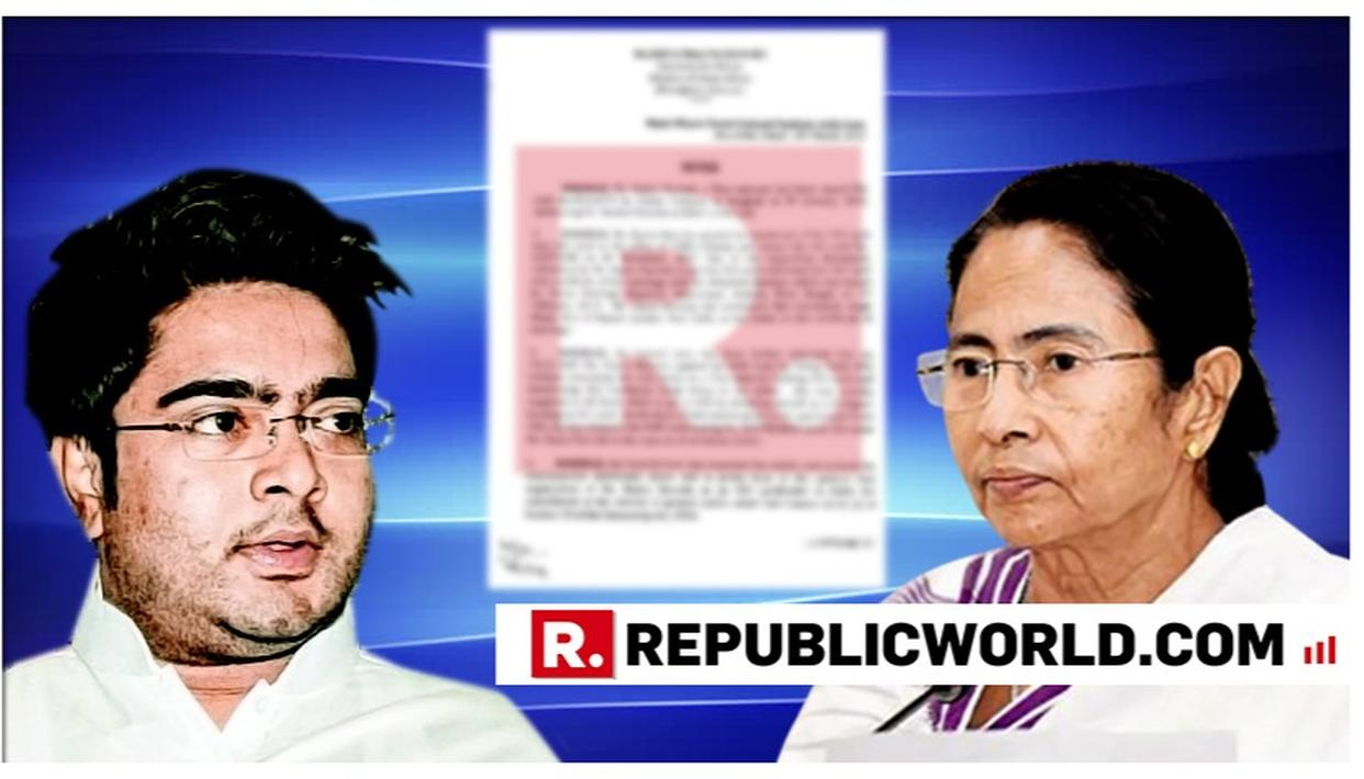 MHA ISSUES SHOWCAUSE NOTICE TO MAMATA BANERJEE'S NEPHEW ABHISHEK'S WIFE OVER CONCEALMENT OF FACTS REGARDING ISSUAL OF OCI, PAN CARDS
