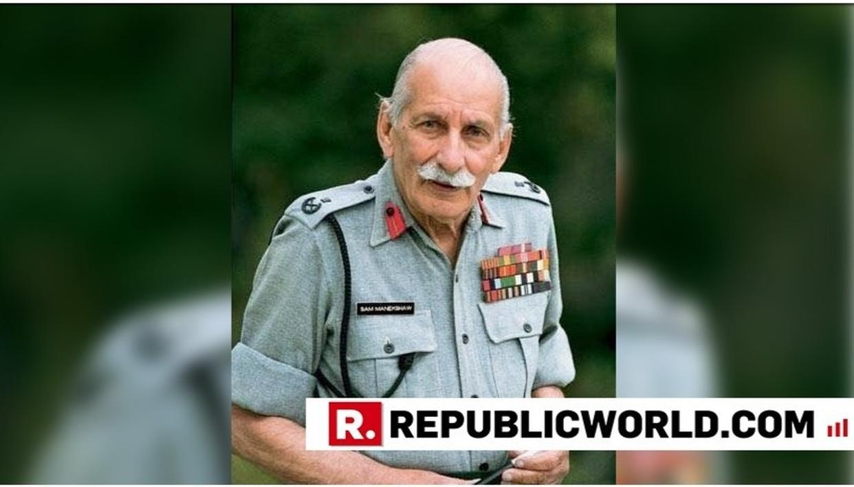 INDIAN ARMY, PRESIDENT KOVIND PAY TRIBUTE TO FIELD MARSHAL SAM MANEKSHAW ON HIS BIRTH ANNIVERSARY