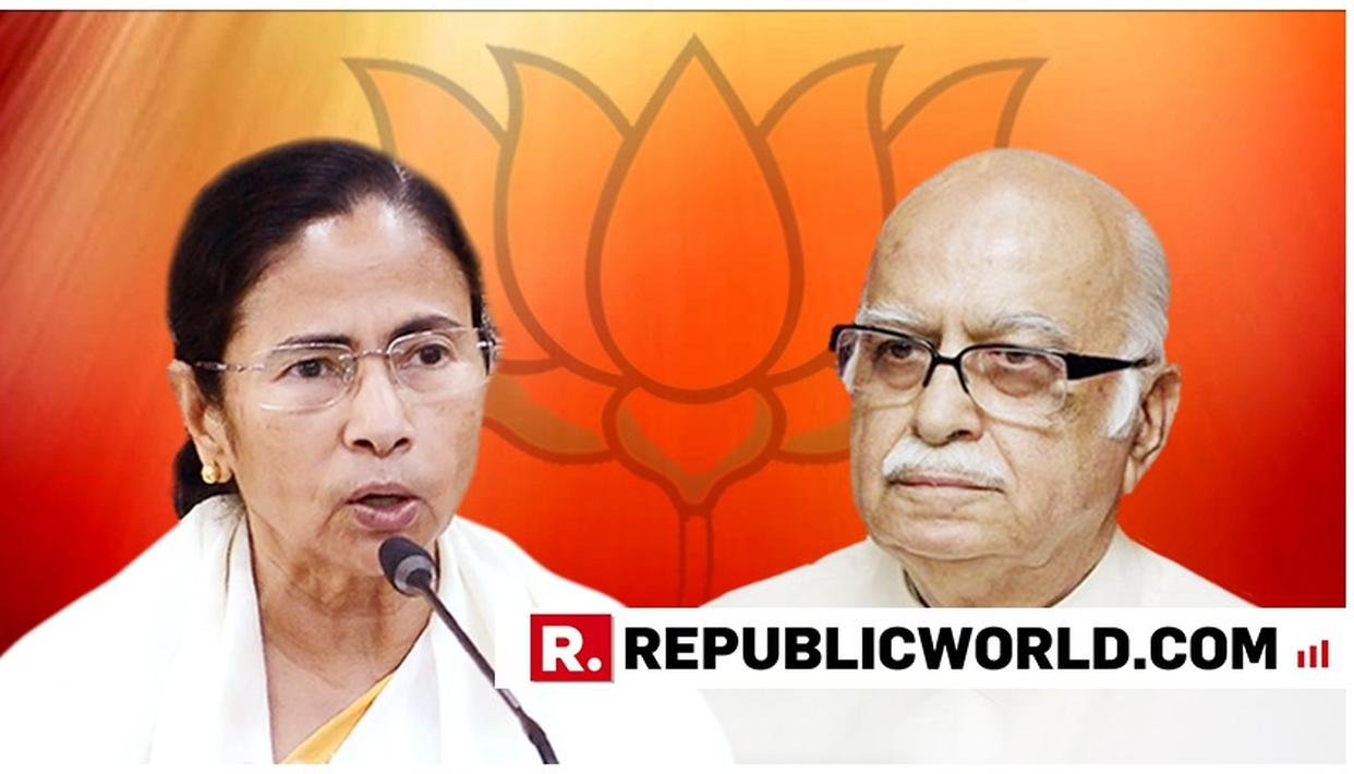 TRINAMOOL CHIEF MAMATA BANERJEE AGREES WITH BJP LEADER LK ADVANI: 'OPPOSITION WHO RAISE THEIR VOICES ARE NOT ANTI-NATIONAL'