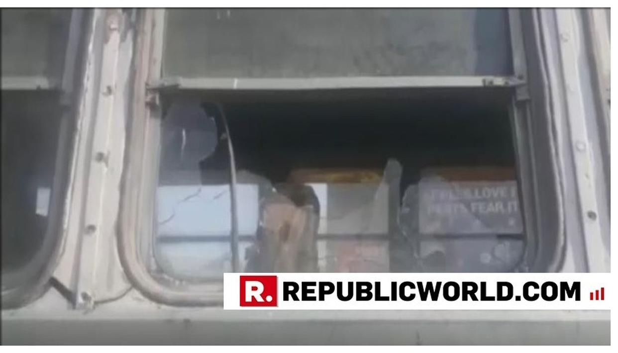 SHOCKING: TERRORISTS FIRE STATE BUS IN SHOPIAN, J&K; DRIVER ESCAPES UNHURT