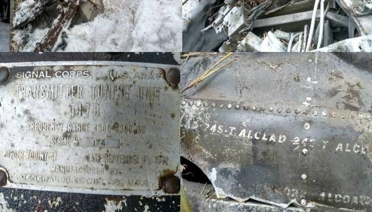 INDIAN ARMY PATROL TEAM DISCOVERS WRECKAGE OF WW II VINTAGE US AIR FORCE AIRCRAFT IN ARUNACHAL PRADESH