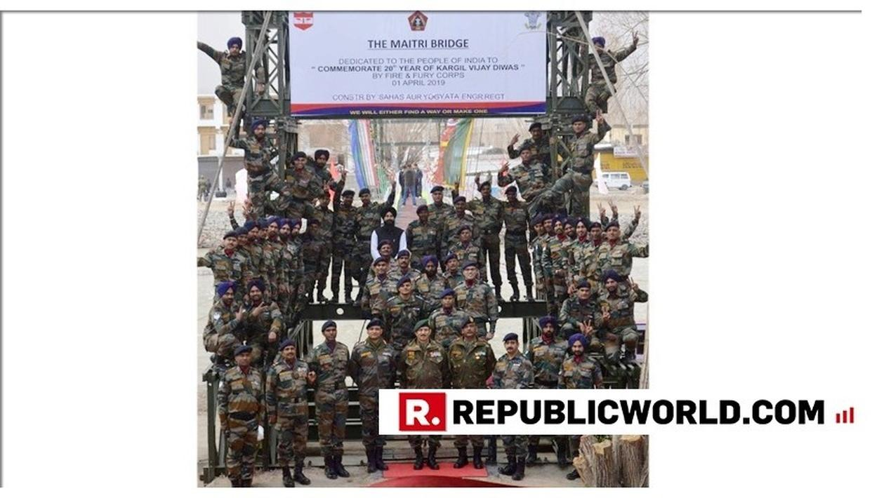 'NATION FIRST': INDIAN ARMY BUILDS THE LONGEST SUSPENSION BRIDGE IN LEH WITHIN 40 DAYS