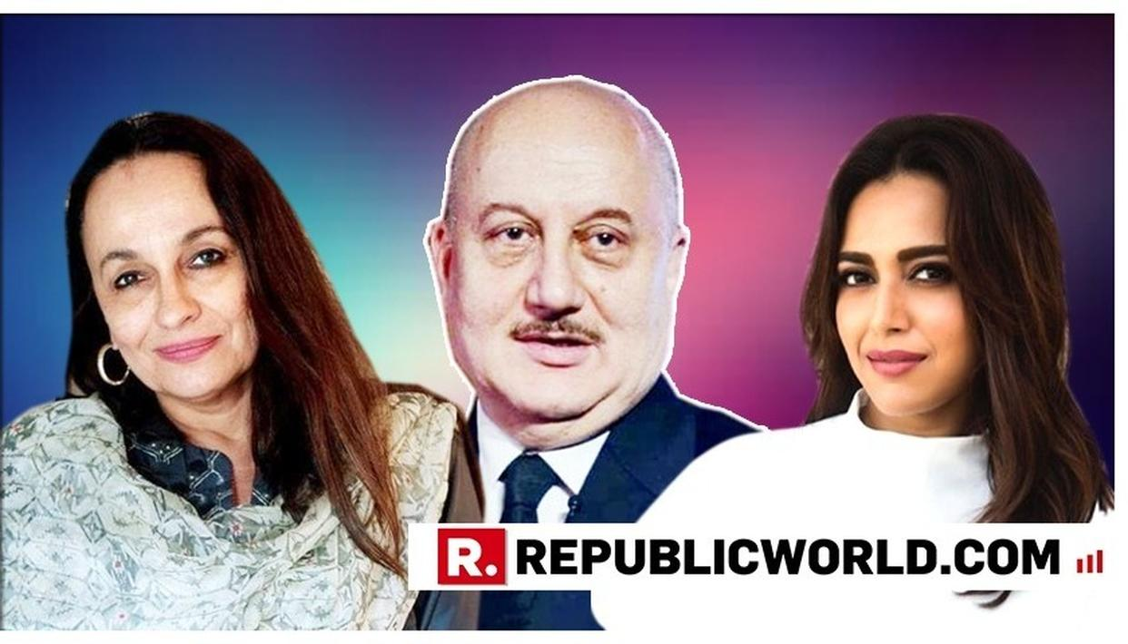 """AFTER ANUPAM KHER'S TWEET ON GROUP WITHIN FRATERNITY """"CAMPAIGNING FOR OPPOSITION"""", HERE'S WHAT SWARA BHASKAR AND SONI RAZDAN HAD TO SAY"""
