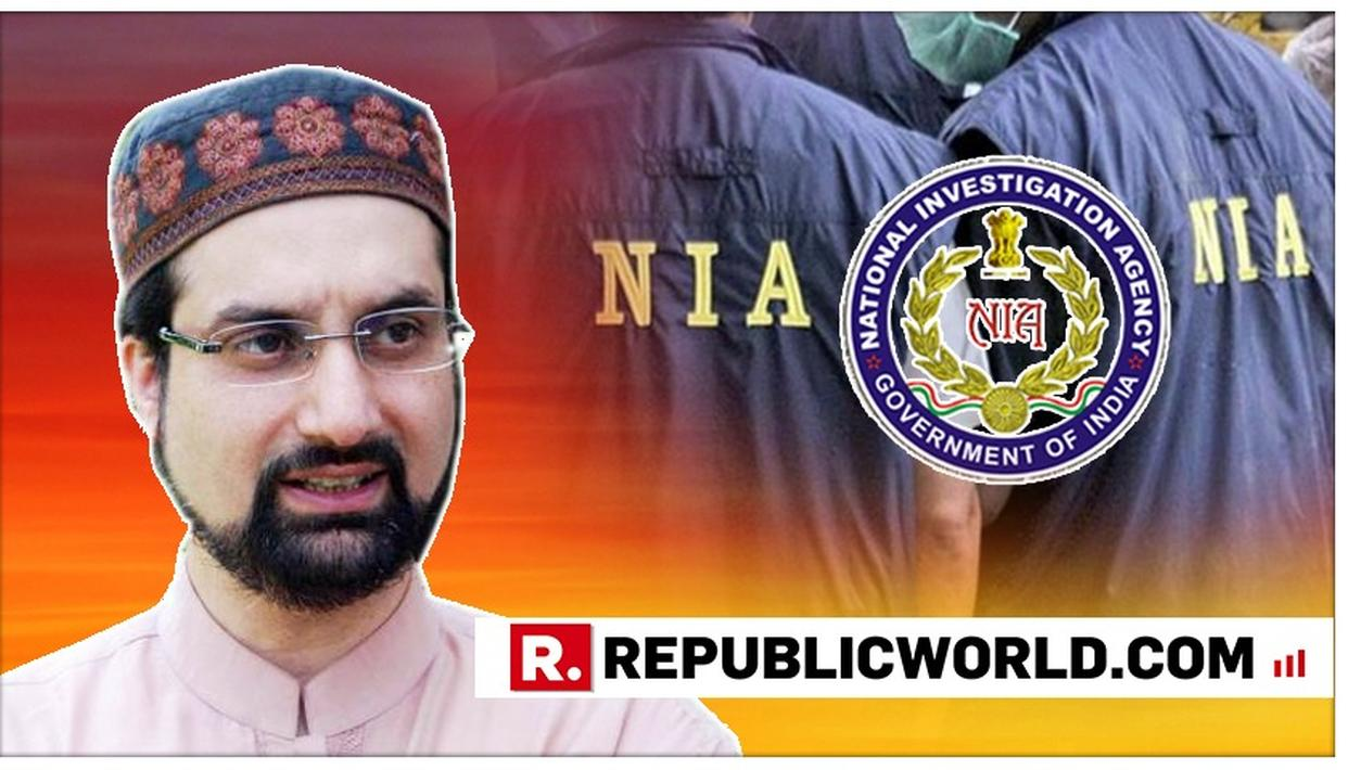 MIRWAIZ UMAR FAROOQ ARRIVES IN NEW DELHI, TO BE QUESTIONED BY NIA IN CONNECTION WITH J&K TERROR FINANCING CASE