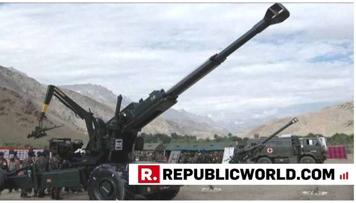 WATCH: INDIAN ARMY INDUCTS DHANUSH ARTILLERY