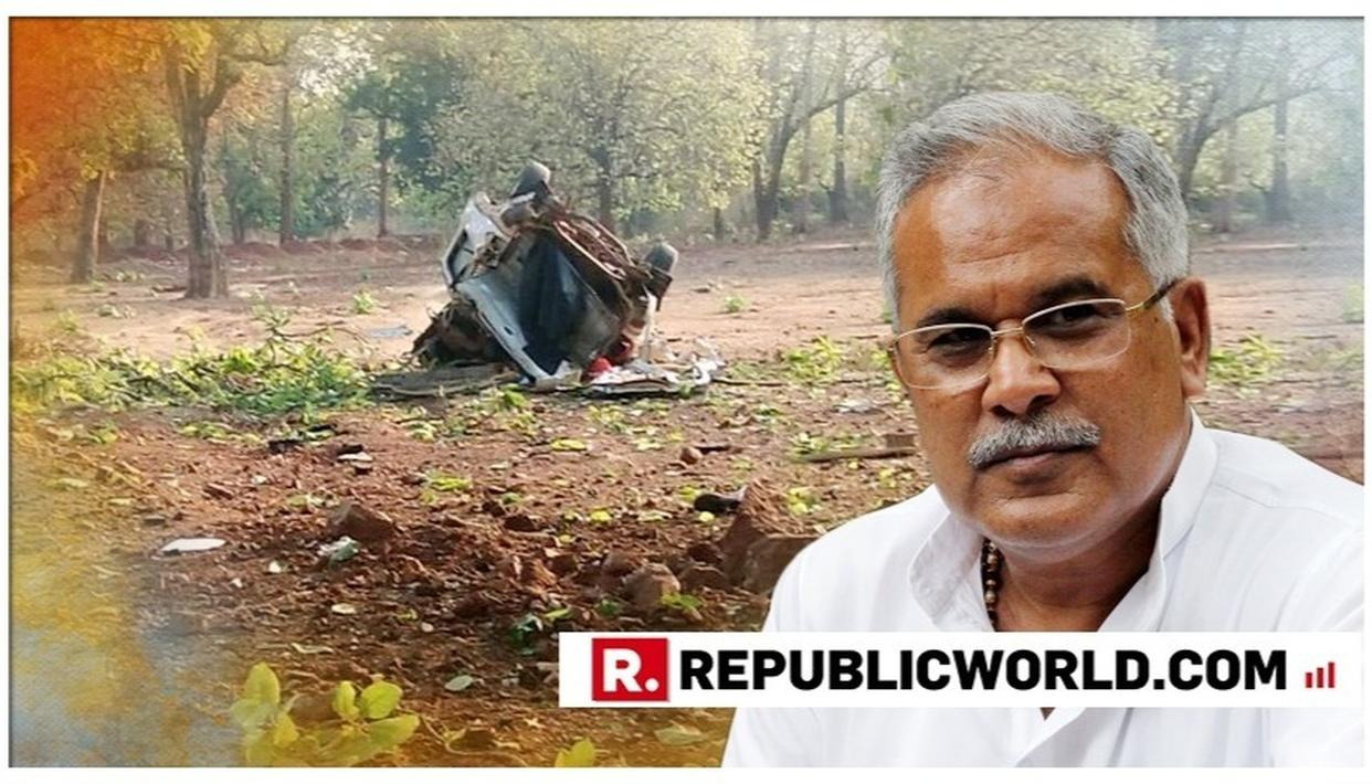 """NAXAL BULLETS SHOULD BE ANSWERED IN THEIR OWN LANGUAGE,"" SAYS CHHATTISGARH CM BHUPESH BAGHEL CONDEMNING THE MAOIST TERROR ATTACK ON THE BJP CONVOY IN DANTEWADA"