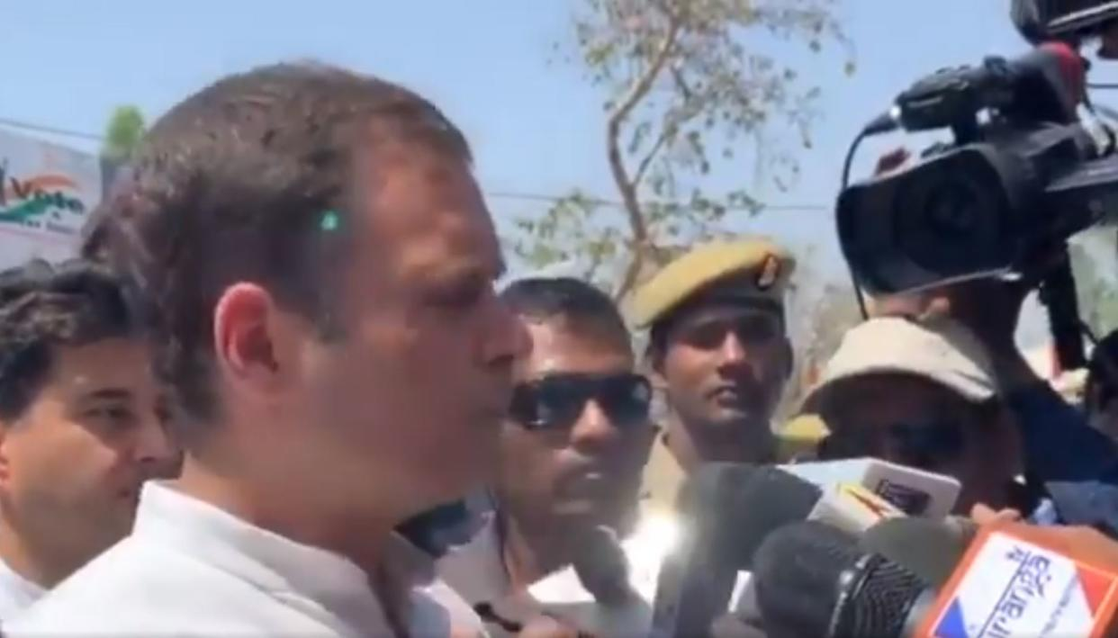 'CONGRESS SNIPER THREAT CHARGE WAS GREEN LIGHT FLASHED ON RAHUL GANDHI BY AICC PHOTOGRAPHER'S PHONE': MHA SOURCES