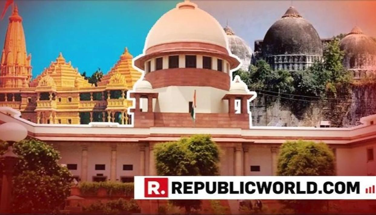 SC JUNKS PLEA FOR WORSHIP AT AYODHYA SITE